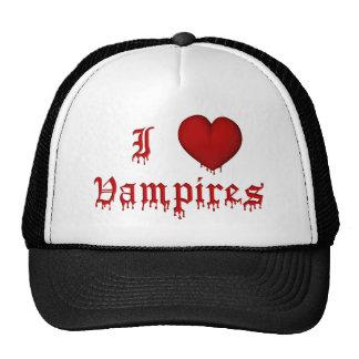 KRW Dripping Blood I Love Vampires Cap