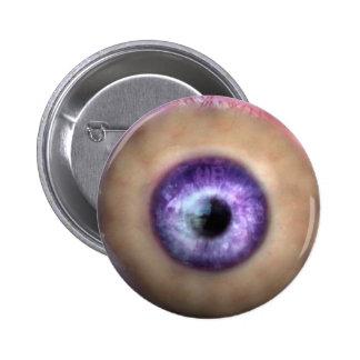 KRW Eye of the Monster Halloween 6 Cm Round Badge