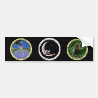 KRW Faery Triple Bumper Sticker
