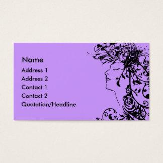 KRW Flourishing Beauty Business Card