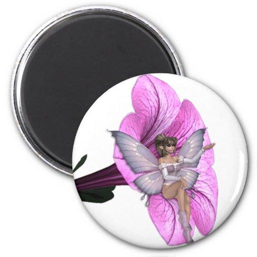 KRW Flower Faery 2 Fridge Magnets