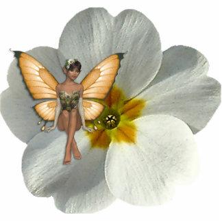 KRW Flower Faery 6 Sculptured Keychain Photo Sculpture