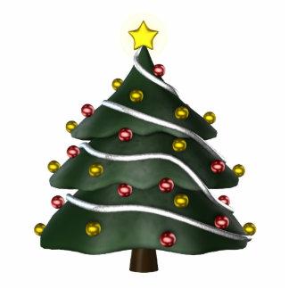 KRW Fun Christmas Tree Ornament Photo Sculpture Decoration