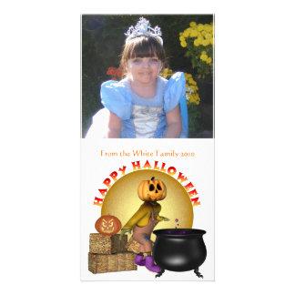 KRW Fun Happy Halloween Custom Photo Card