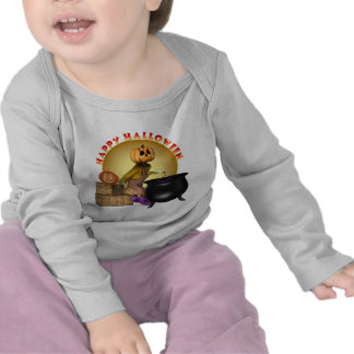 KRW Fun Happy Halloween Infant Long Sleeve Creeper