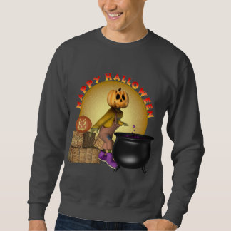 KRW Fun Happy Halloween Sweatshirt