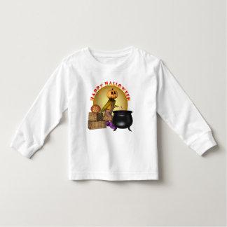 KRW Fun Happy Halloween Toddler Long Sleeve Shirt