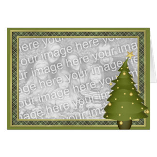 KRW Fun Lil Christmas Tree Custom Photo Card