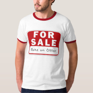 KRW Funny For Sale Sign  T-Shirt