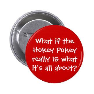 KRW Funny Hokey Pokey Joke Pins