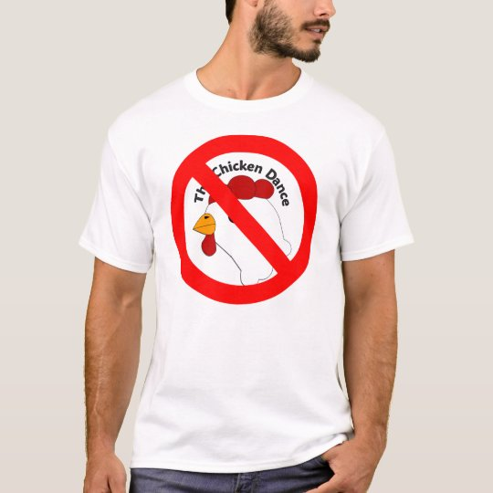 KRW Funny No Chicken Dance Wedding T-Shirt