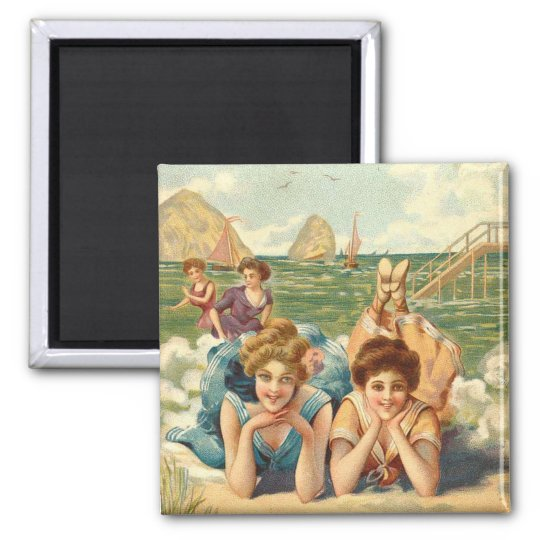 KRW Girlfriends Vintage Magnet