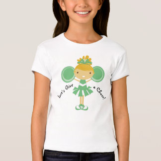 KRW Green Cheerleader Party T-Shirt