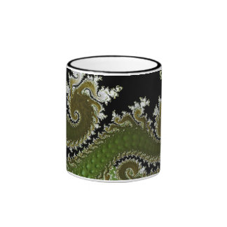 KRW Green Dragon Mugs