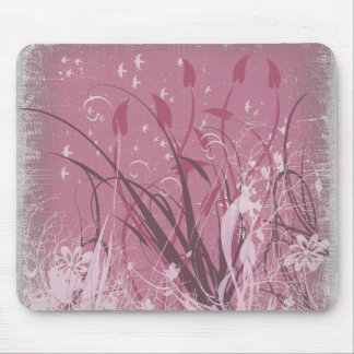 KRW Grunge in Pink Mouse Pad