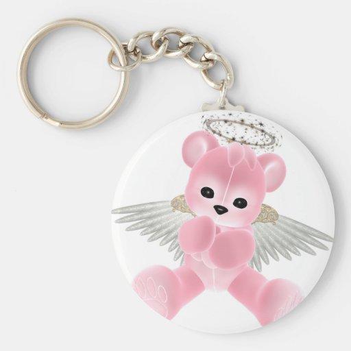 KRW Guardian Angel Bear Key Chains