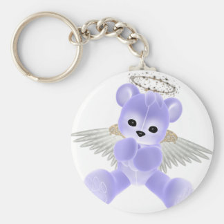 KRW Guardian Angel Bear Key Ring