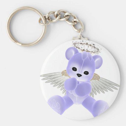 KRW Guardian Angel Bear Keychains