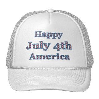 KRW Happy Fourth of July America Cap
