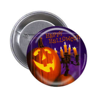 KRW Happy Halloween Jack O Lantern Pin