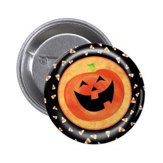 KRW Happy Jack O' Lantern Halloween Pin
