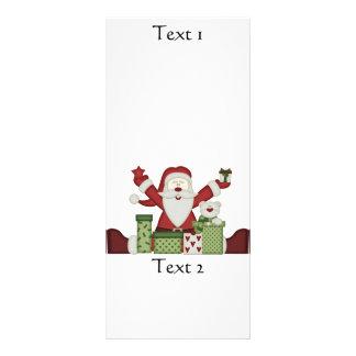 KRW Happy Santa Holiday Rack Card