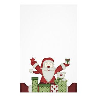 KRW Happy Santa Holiday Stationery