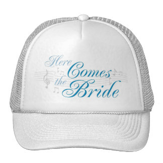 KRW Here Comes the Bride Hat