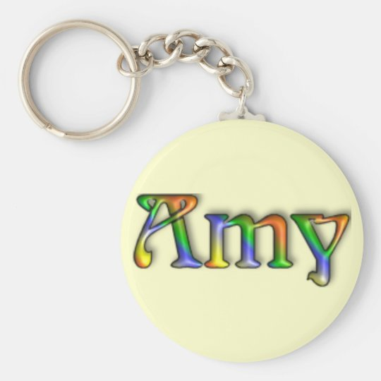 KRW Hippie Groove Name Keychain - Amy