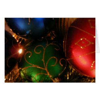 KRW Holiday Ornaments Card
