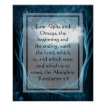KRW I am the Alpha and the Omega Poster