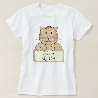 KRW I Love My Cat T-Shirt