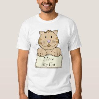 KRW I Love My Cat Tshirt