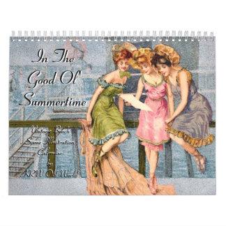 KRW In the Good Ol' Summertime Vintage 2009 Calendars