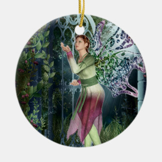 KRW Into the Night Faery Fantasy 2 Sided Ornament