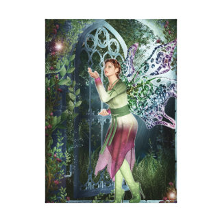KRW Into the Night Fantasy Faery Art Canvas Print