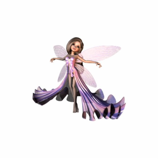 KRW Iridescent Fairy Photo Sculpture