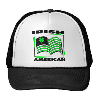 KRW Irish American Green Flag Hat
