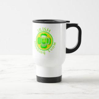 KRW Irish Drinking Team Stainless Steel Travel Mug