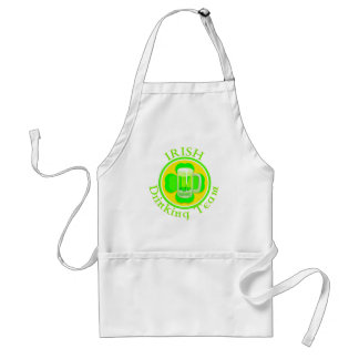 KRW Irish Drinking Team Standard Apron