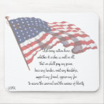 KRW J F Kennedy Quote Mousepad