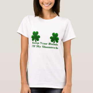 KRW Keep Your Hands Off My Shamrocks T-Shirt
