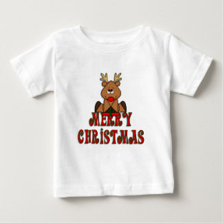 KRW Kid's Reindeer Merry Christmas Shirt
