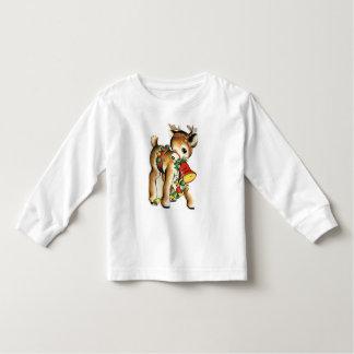KRW Kid's Retro Reindeer Shirt