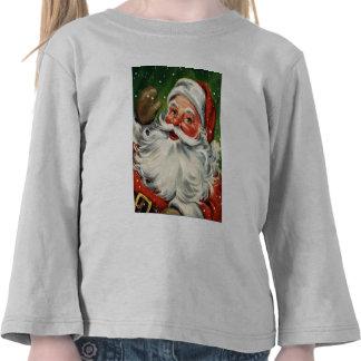 KRW Kid's Retro Santa  Shirt
