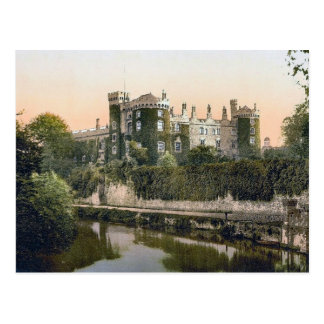 KRW Kilkeny Castle Ireland Vintage Postcard