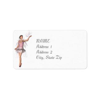 KRW Lana Fairy Fantasy Custom Address Label