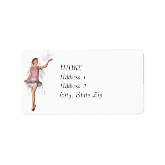 KRW Lana Fairy Fantasy Custom Address Label