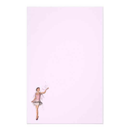 KRW Lana Fairy Fantasy Pink Stationery