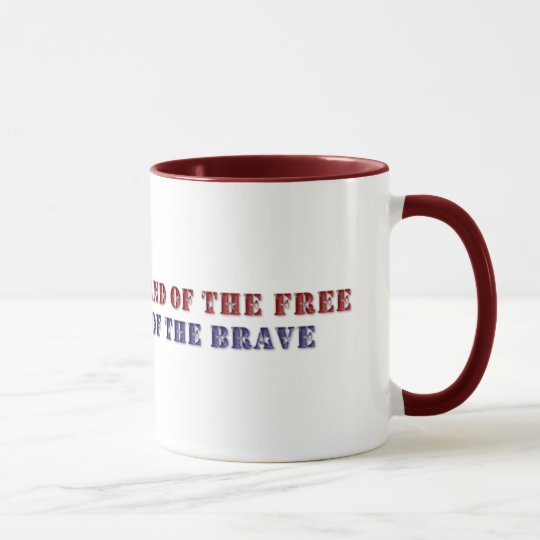 KRW Land of the Free Mug